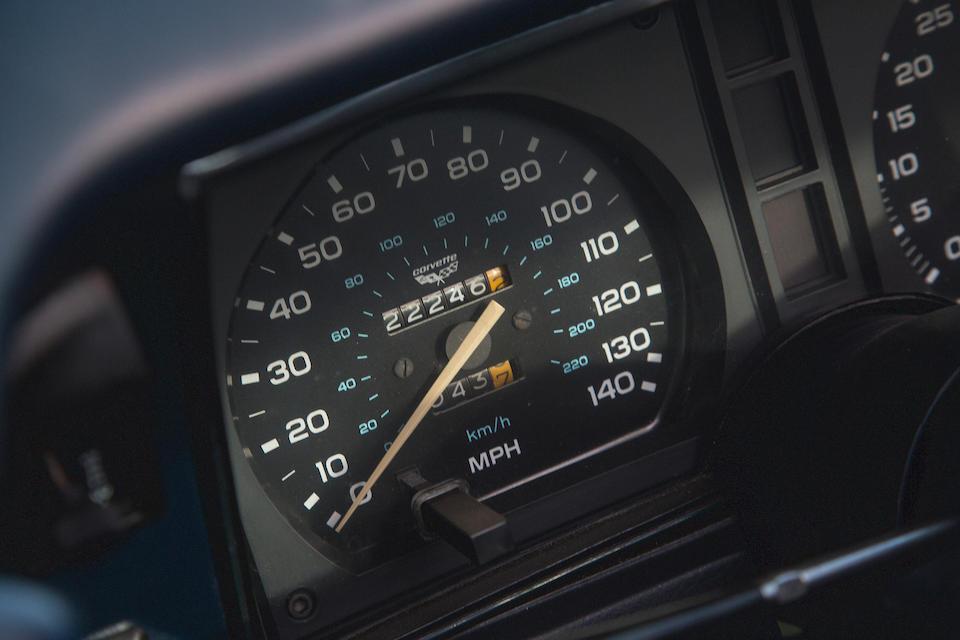 Chevrolet Corvette 25th Anniversary coupé Targa 1978