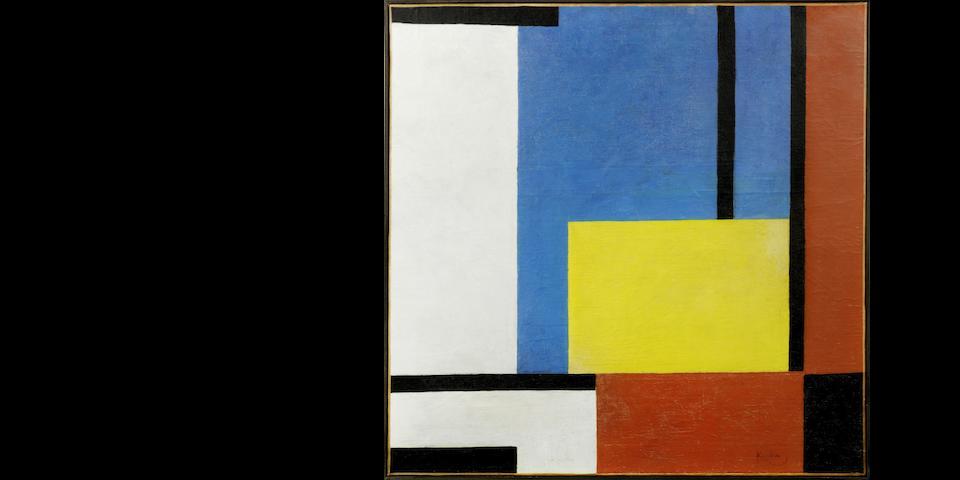 Frantisek Kupka (1871-1957) Variation et contraste (Painted circa 1932)