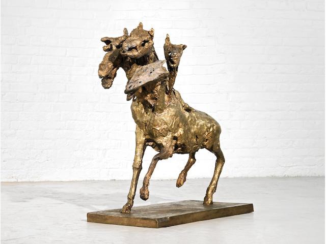 Germaine Richier (French, 1904-1959) Le cheval à six têtes, grand 1954-1956