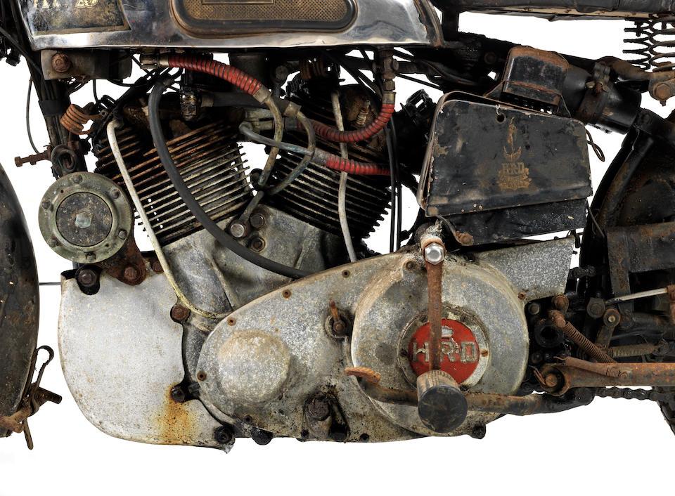 1939 Vincent-HRD 998cc Rapide Series-A Project Frame no. DV1699 Engine no. V1060
