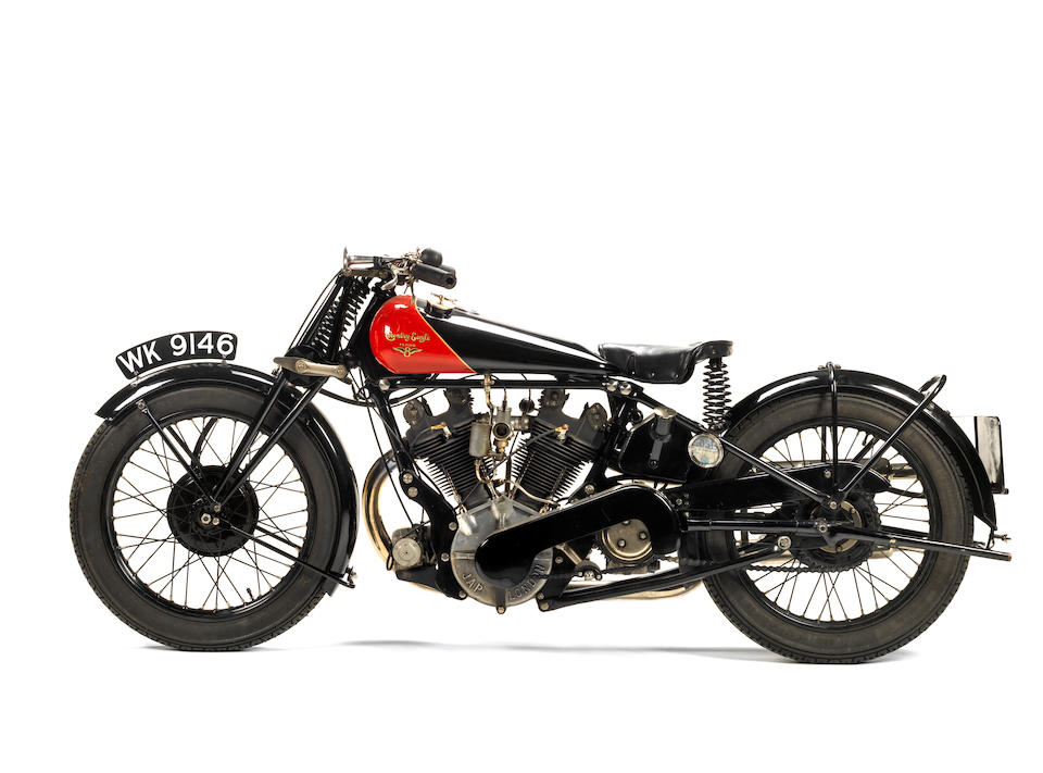 1929 Coventry-Eagle 980cc Flying-8 OHV Frame no. 41507 Engine no. KTOR/C/90460