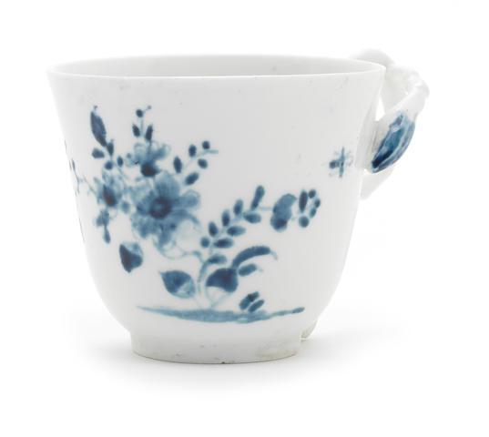 A Longton Hall coffee cup, circa 1753-55