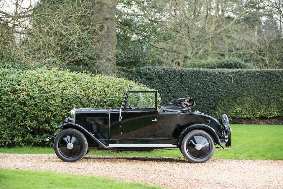 1928 Riley 9hp 'Mark I' Drophead Coupé  Chassis no. 60-950 Engine no. 4782