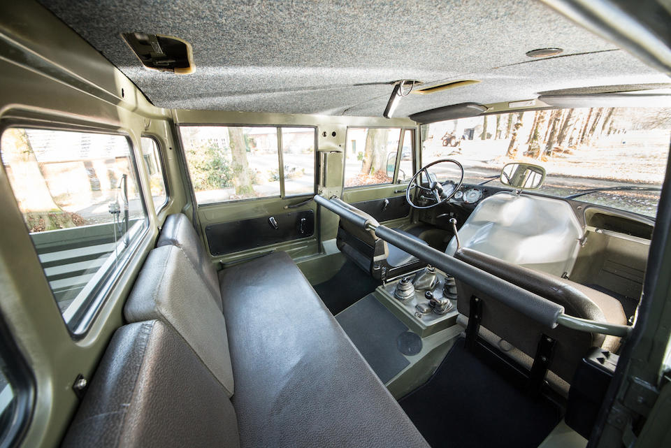 1983 Mercedes-Benz Unimog 406.101 ATV  Chassis no. L7FOW7P98