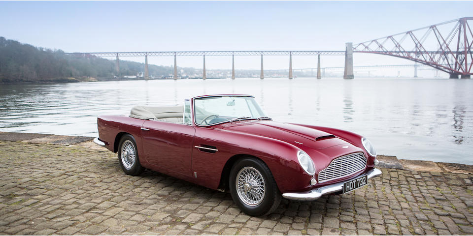 1964 Aston Martin DB5 Convertible  Chassis no. DB5C/1287/R