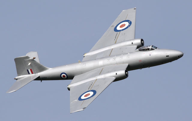 Appointed by the Receivers of Midair Squadron Limited,1959 English Electric Canberra PR9 XH134 (G-OMHD)