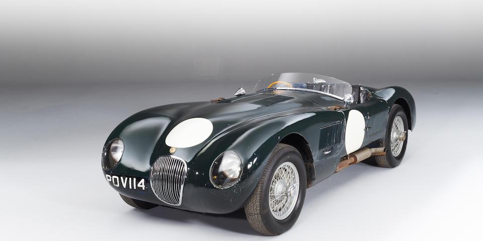 1952 Jaguar C-Type Sports Racing,1952 Jaguar C-Type Sports Racing
