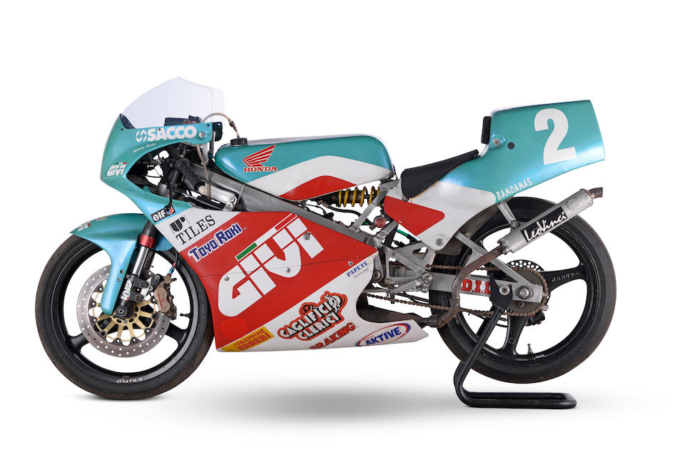 The ex-Noboru 'Nobby' Ueda, Givi Racing,1994 Honda RS125 NF4 Grand Prix Racing Motorcycle Frame no. 01