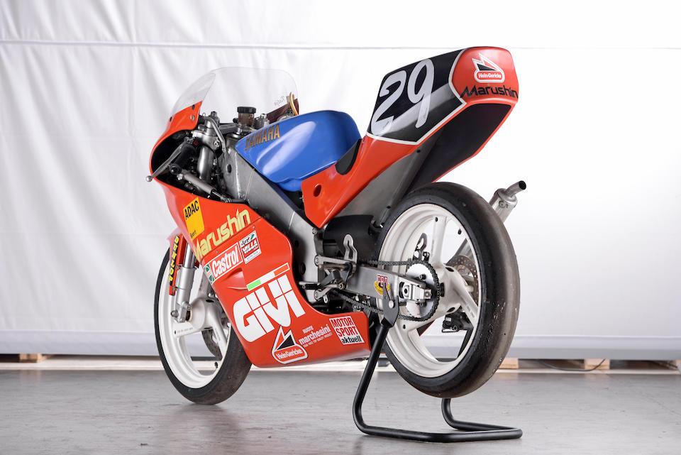 The ex-Katja Poensgen,1994 Yamaha TZ125 Racing Motorcycle Frame no. 4JT-000297