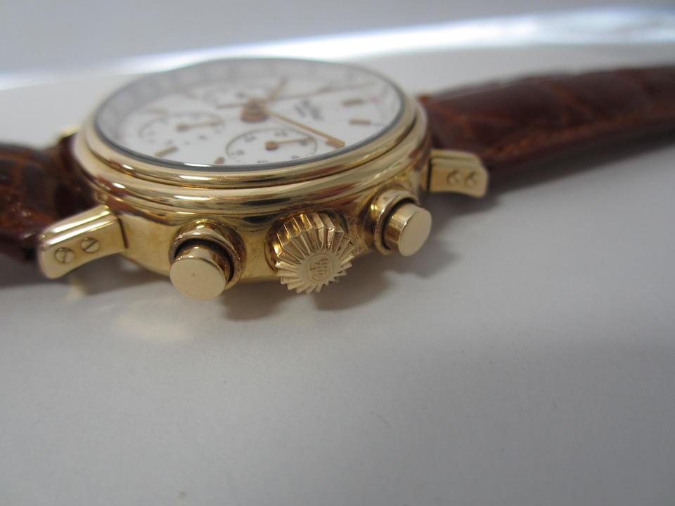Paul Picot. An 18K rose gold manual wind chronograph wristwatch Haut de Gamme, Ref:4889-5191, No.064, Circa 2000