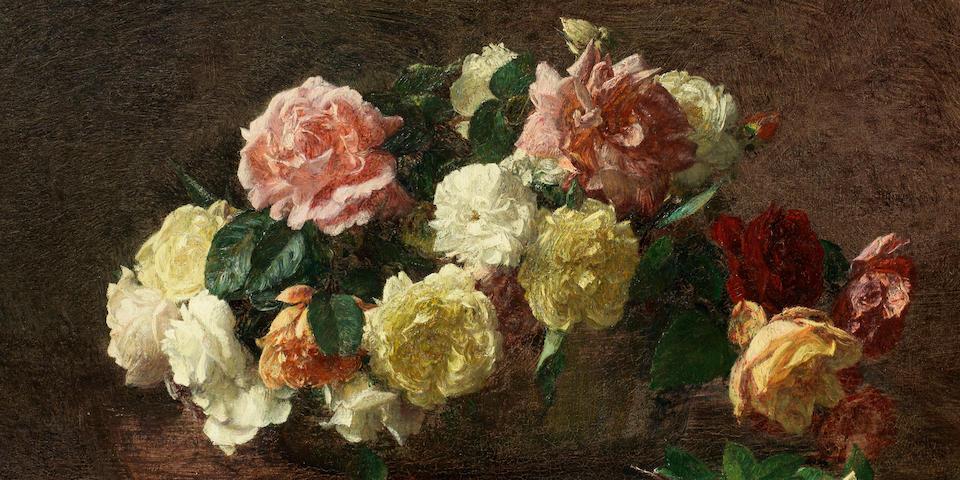 Henri Fantin-Latour (French, 1836-1904) Roses
