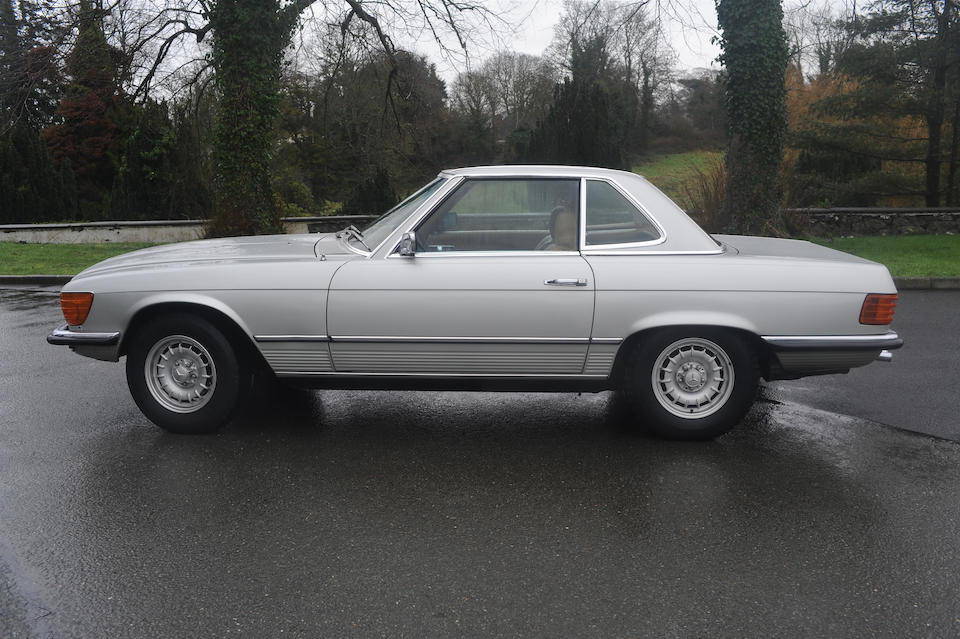 Sold in aid of the registered charity 'Crosscause',1973 Mercedes-Benz 350 SL Convertible with Hardtop  Chassis no. 107043-10-010982 Engine no. 0710894