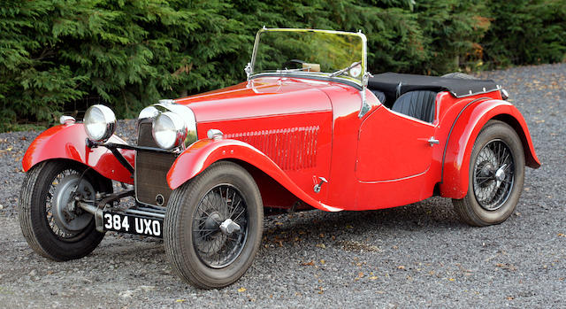 1938 / 46 HRG 1100 Sports  Chassis no. S59 Engine no. 2137H