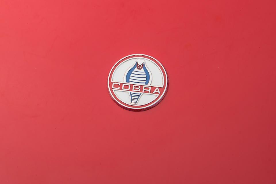 1995 AC Shelby Cobra Mark IV Roadster  Chassis no. SA9AK3022SA17511 Engine no. SF118056
