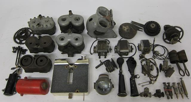 A selection of Scott parts,  ((Qty))