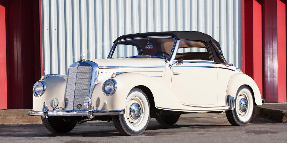 1953 Mercedes-Benz 220 Cabriolet A  Chassis no. 187.012-02134/53 Engine no. 180.920-02228/53