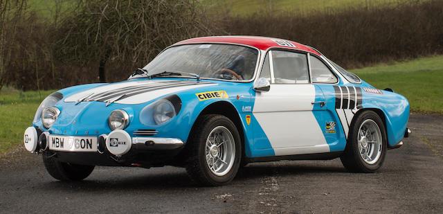 1974 Alpine A110 Coupé  Chassis no. BA-0664 Engine no. K-06538