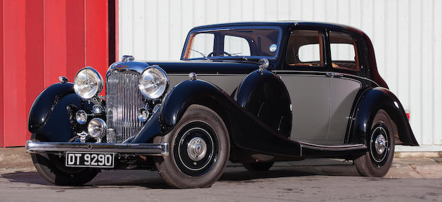 1937 Lagonda LG45 Saloon De Ville  Chassis no. 12257/G/10 Engine no. 12257