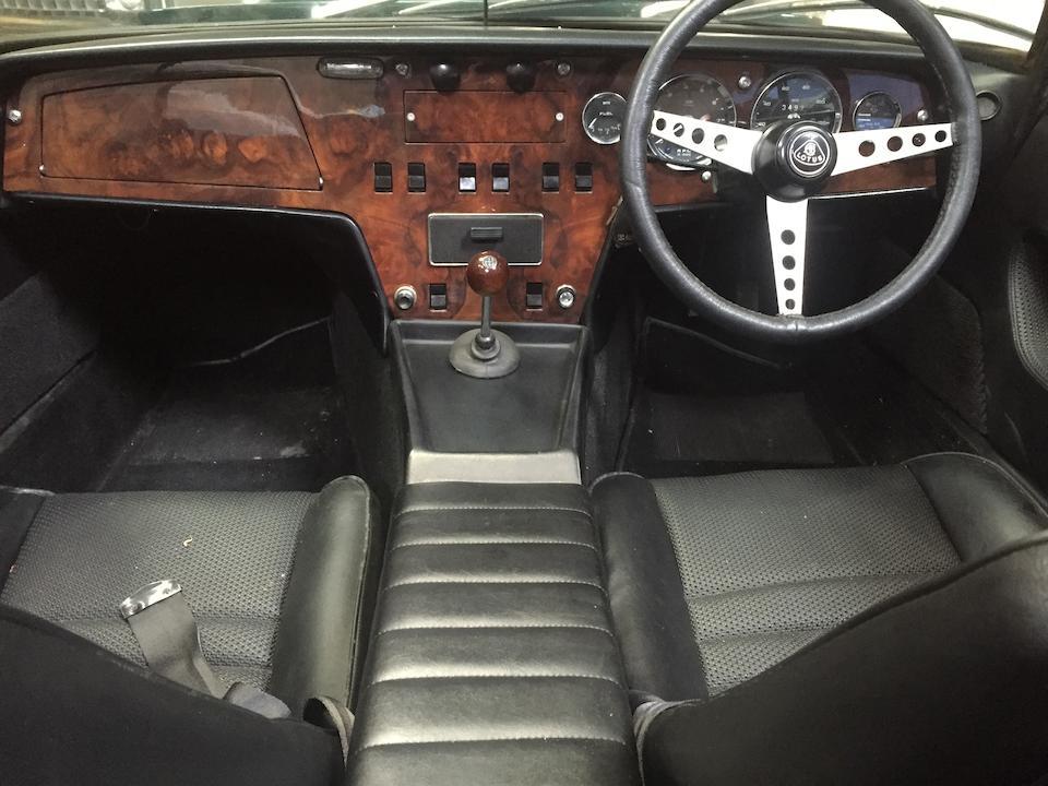 1969 Lotus Elan S4 Drophead Coupé  Chassis no. 45-9196 Engine no. L20320