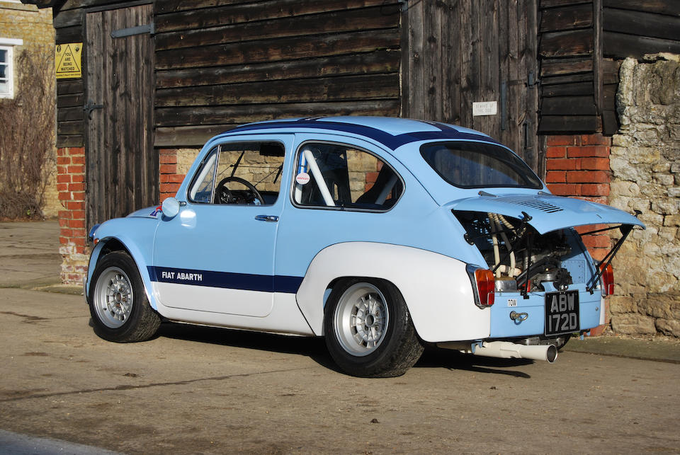 1966 FIAT-Abarth 1000 TC Corsa Saloon  Chassis no. 100DS 2096251 and 210 1687 (Abarth) Engine no. A112A 20028081