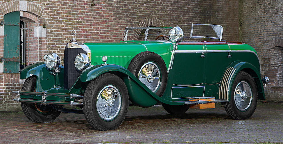 A rare supercharged,1926 MERCEDES-BENZ  24/100/140 PS MODEL K La Baule Transformable  Chassis no. 35426 Engine no. 60616
