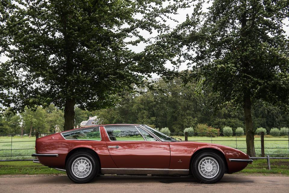 1973 Maserati Indy 4900 Coupé   Chassis no. AM 116 49 1854