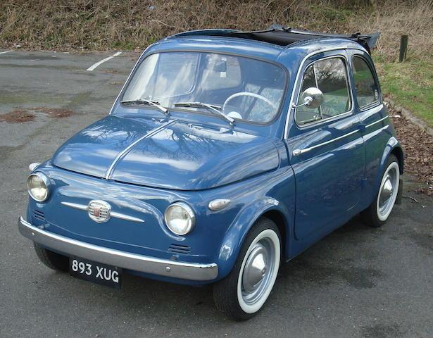 Bonhams 1959 Fiat 500n Trasformabile Chassis No 079825 Engine No