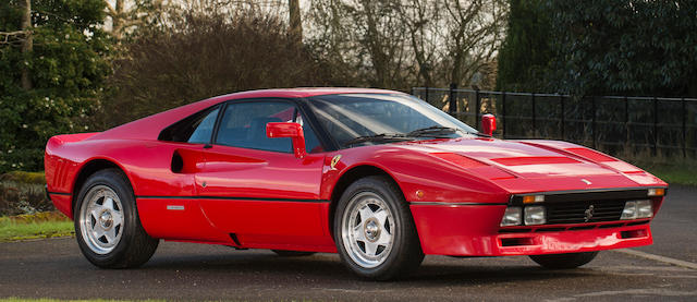 By order of the executors, One owner from new, Ferrari Classiche certified ,1985 Ferrari  288 GTO Coupé  Chassis no. ZFFPA16B 0000 55171 Engine no. F114B 00128