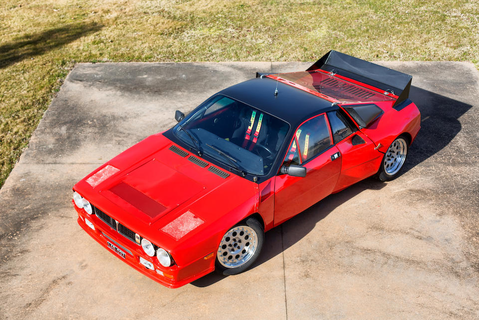 The first factory prototype,1980 Lancia  Rally SE 037 Prototype Group B Competition Car  Chassis no. SE037-001 Engine no. 232 AR4 00176