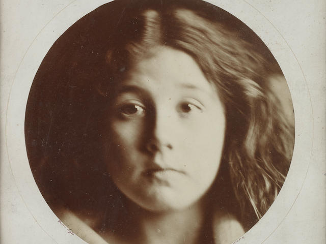 CAMERON (JULIA MARGARET) Kate Keown [No. 5 Of Series of Twelve Lifesized Heads], [1866]