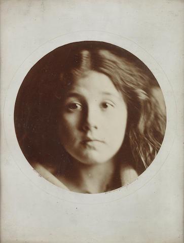 CAMERON (JULIA MARGARET) Kate Keown [No. 5 Of Series of Twelve Lifesized Heads], [1866]