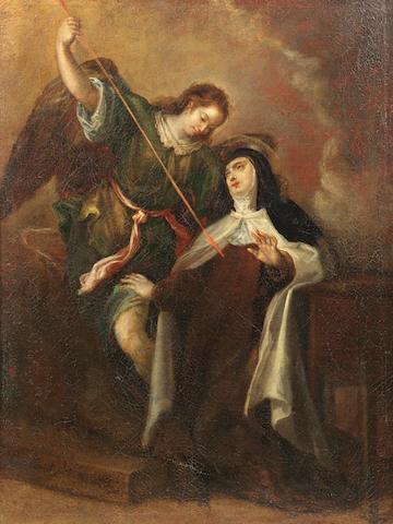Francisco Camilo (Madrid 1615-1671) The Ecstasy of Saint Teresa