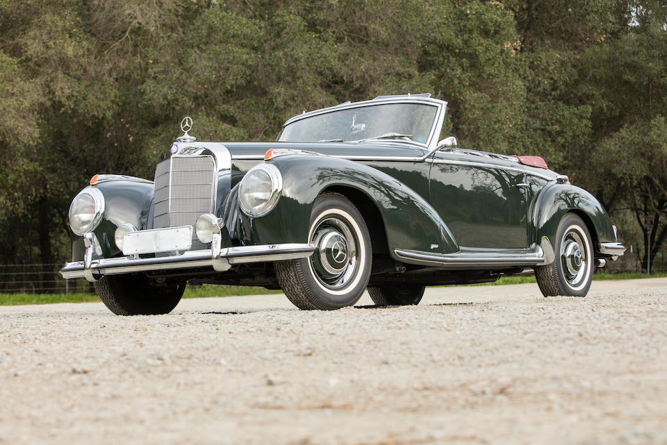 1953 Mercedes-Benz 300S Roadster  Chassis no. 188012 00071/53 Engine no. 188920 00073/53