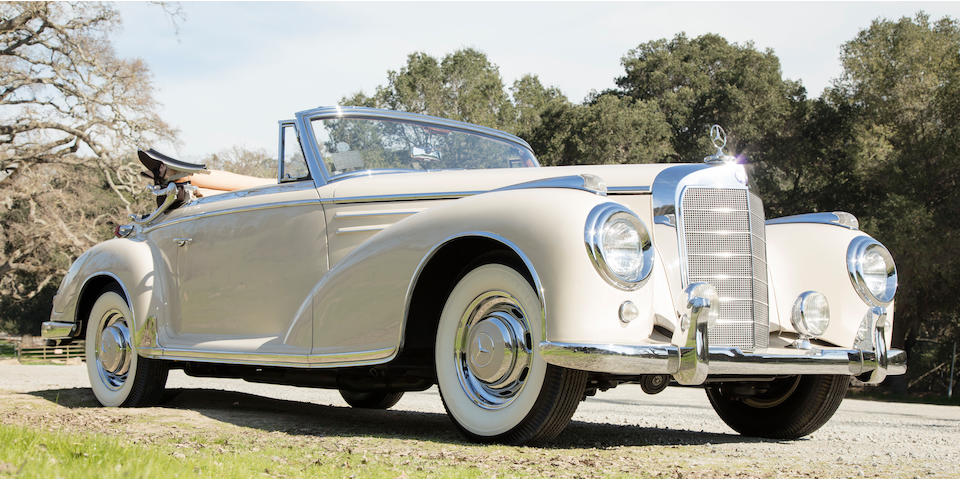 1957 Mercedes-Benz 300SC Cabriolet  Chassis no. 188013 6500105 Engine no. 199980 6500106