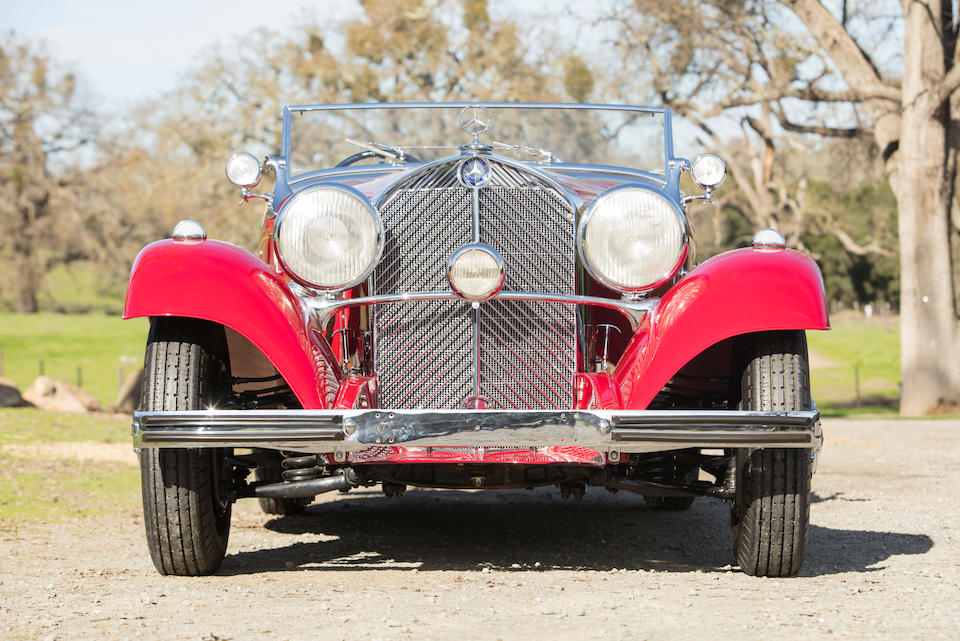 1936 Mercedes-Benz 500K Sports Roadster  Chassis no. 130857 Engine no. 101240011.44 130857