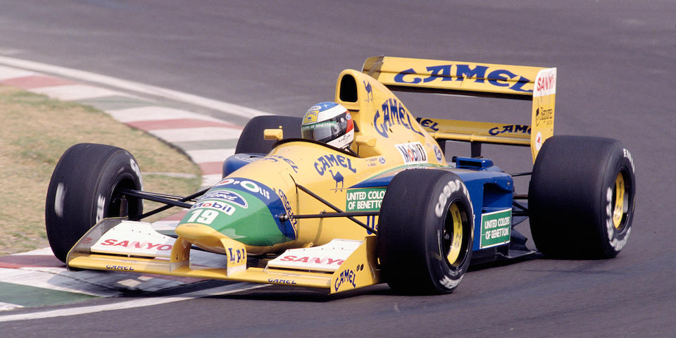 The Ex-Michael Schumacher, Nelson Piquet, Martin Brundle,1991-1992 Benetton-Ford  B191/191B Formula 1 Racing Single-Seater  Chassis no. B191B-06