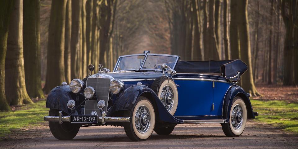 1938 Mercedes-Benz 320 3.2-Litre Cabriolet B  Chassis no. 435053 Engine no. 435053