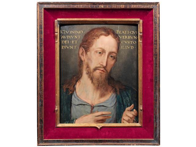 Flemish School, 16th Century Christ preaching