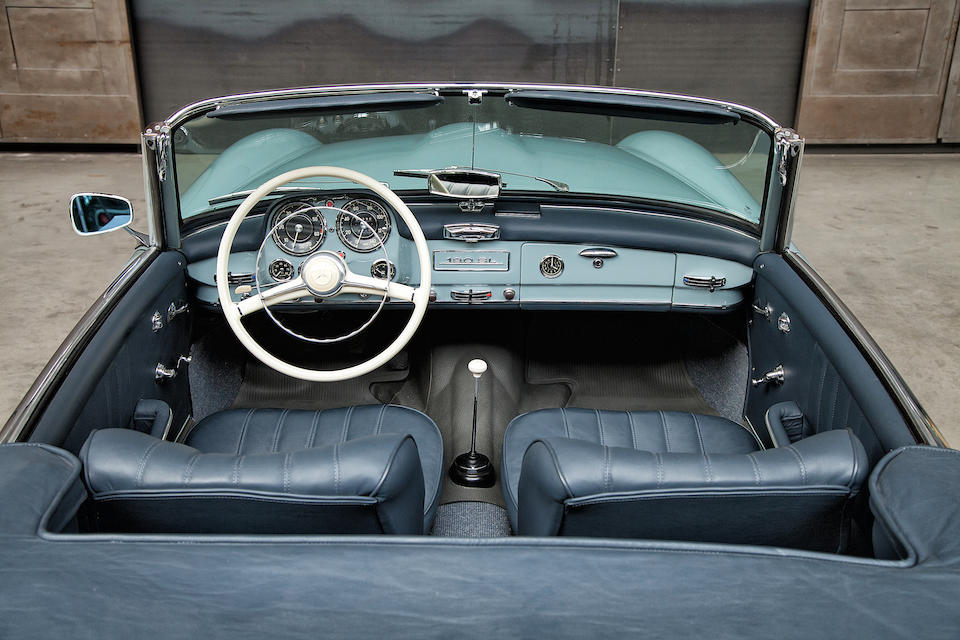 1961 Mercedes-Benz 190 SL Roadster  Chassis no. 121.040-10-022880 Engine no. 121.928-10-000794