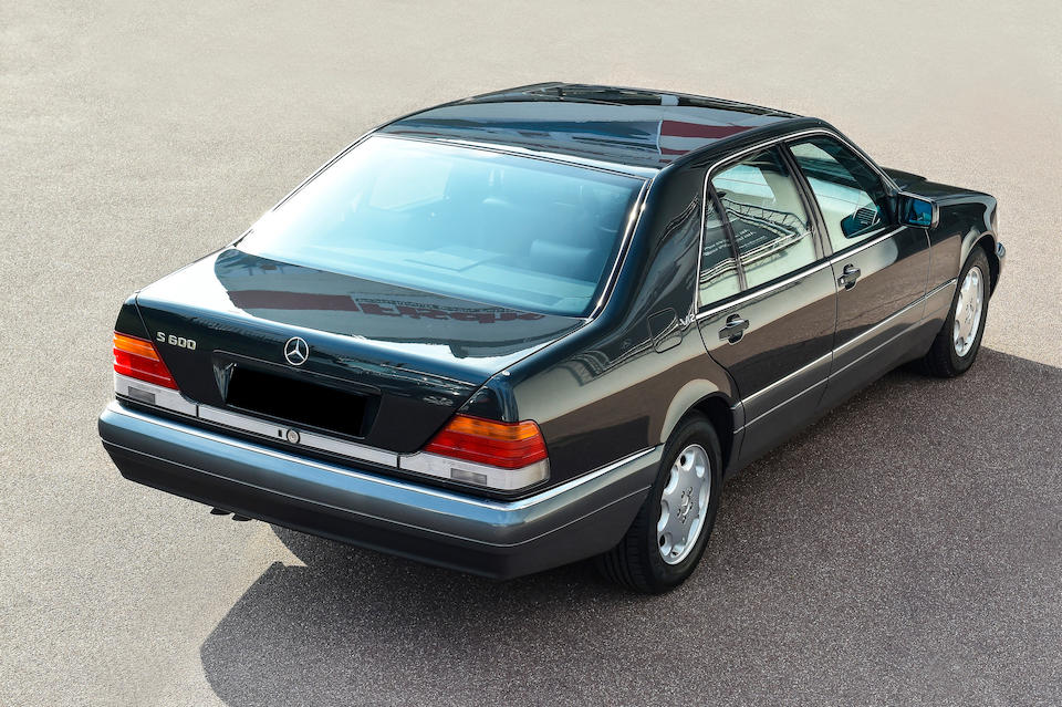 1994 Mercedes-Benz 600 SEL Saloon  Chassis no. 120980 12 025829  Engine no. 722362 03 978501