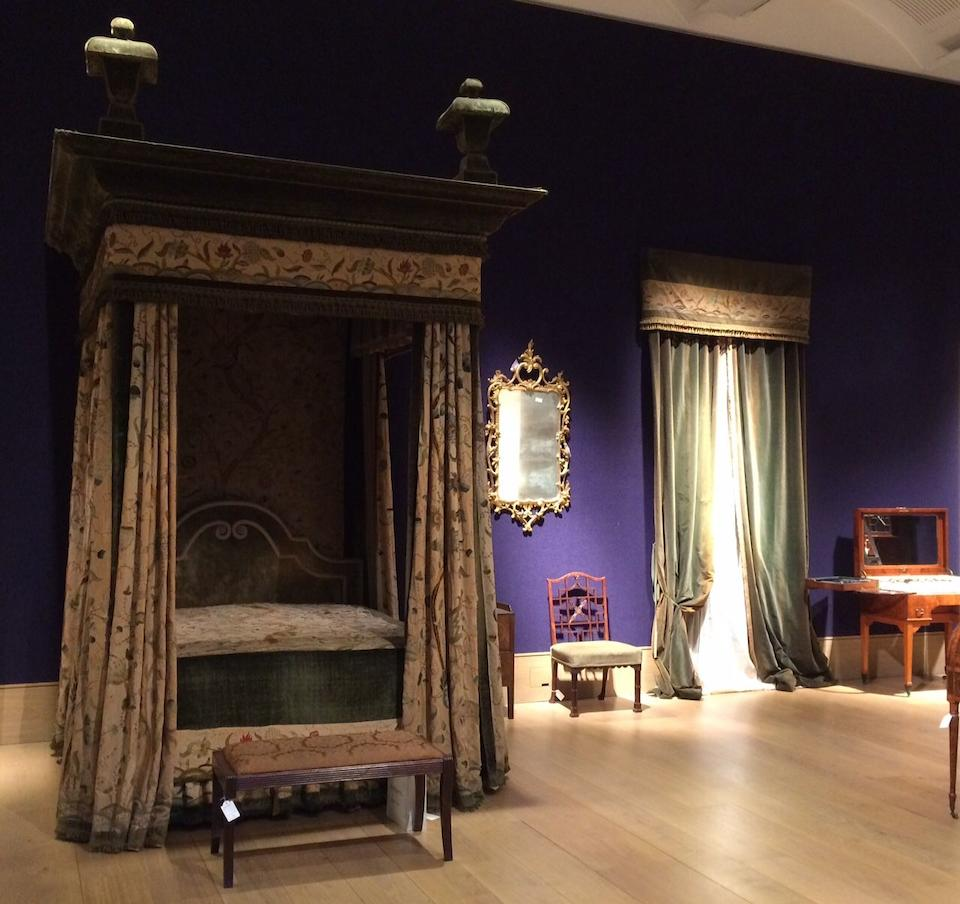 A late 17th century style Tester bed