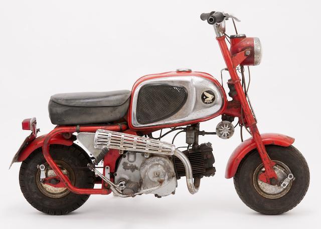 Bonhams : 1966 Honda 50cc CZ100 'Monkey Bike' Project Frame