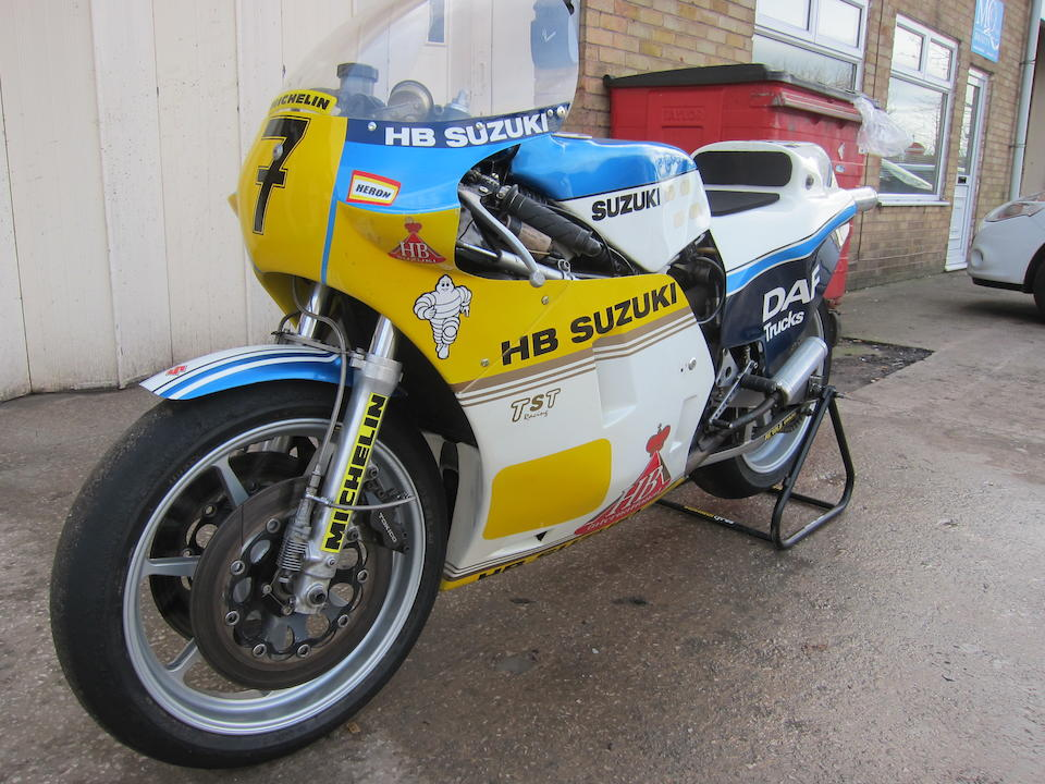 The ex-Barry Sheene, Mick Grant, Heron Suzuki,1983 Suzuki RGB500 Mark 8 Racing Motorcycle Frame no. 10127 Engine no. 10114