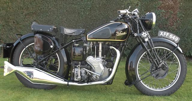 1937 Velocette 498cc MSS Frame no. 3776 Engine no. 2618
