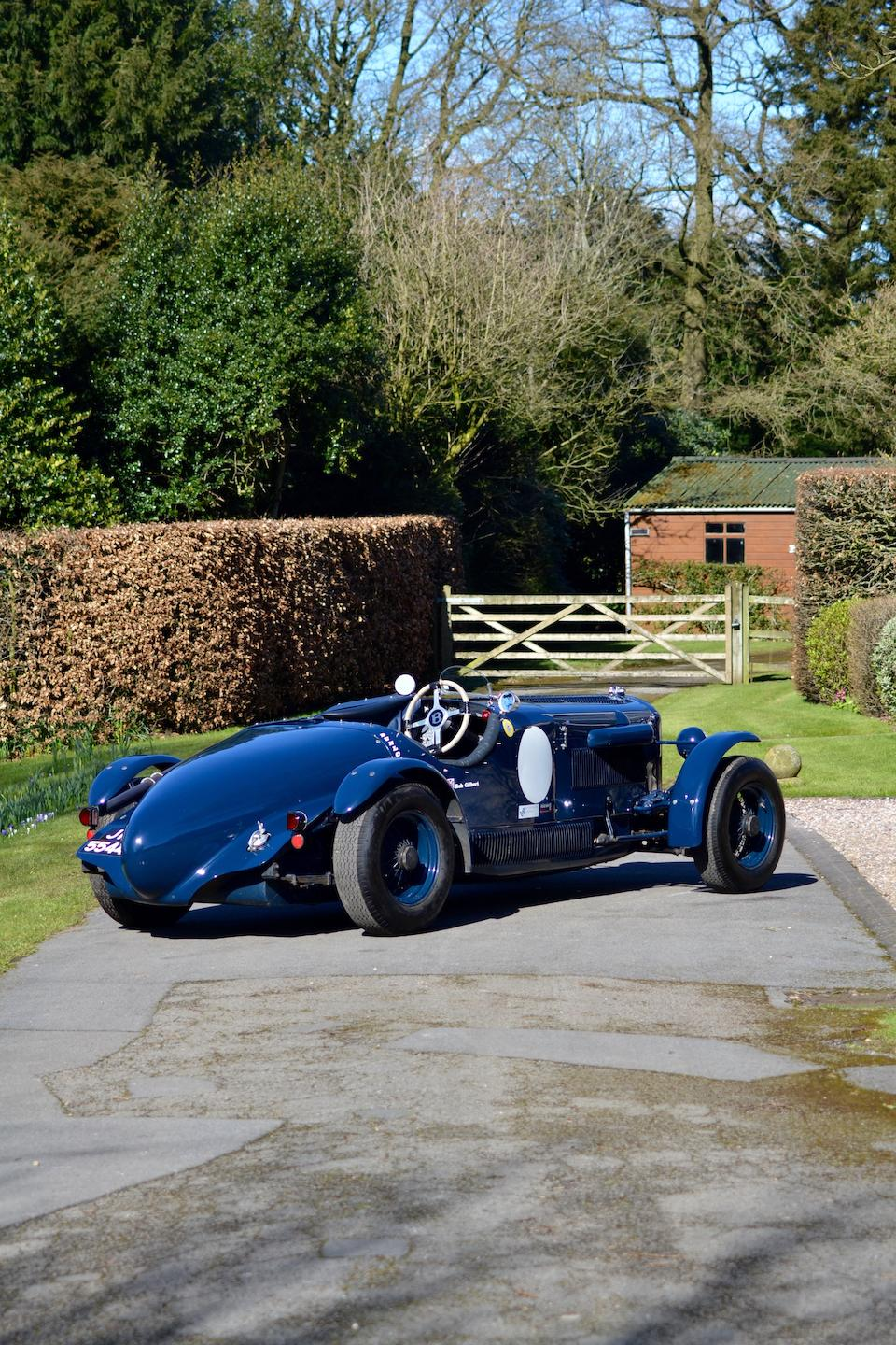 Property of R M 'Bob' Gilbert; highly successful historic racing,1936 Bentley 4¼-Litre Racing Two-Seater  Chassis no. B186HK Engine no. D5BF