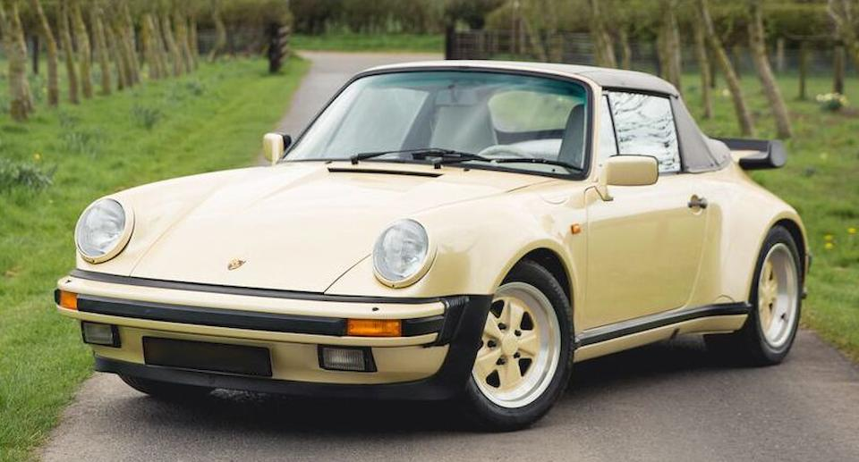 1987   Porsche  911 Turbo 3.3-Litre Cabriolet  Chassis no. WPOZZZ93ZJS020067 Engine no. 67100114