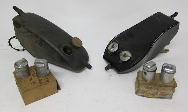 Two Scott tanks,  ((Qty))