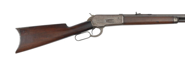 Bonhams : A  45-70 'Model 1886' lever-action rifle by