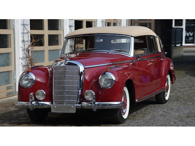 1953 Mercedes-Benz 300 D 'Adenauer' Cabriolet  Chassis no. 186.014-00210/53 Engine no. 186.920.00236/53