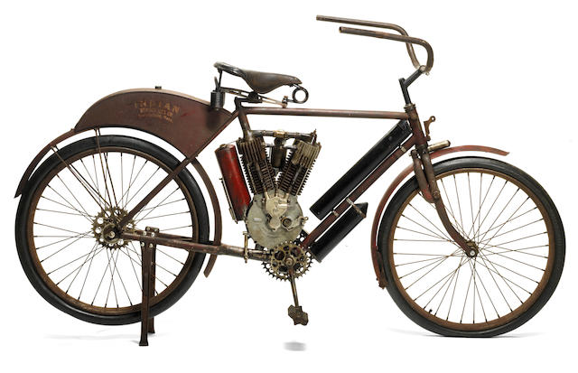 c.1908 Indian 5hp 'Camelback' Twin Project Engine no. T 2029